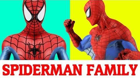Spiderman Finger Family Nursery Rhymes songs for children -Finger Family rhymes