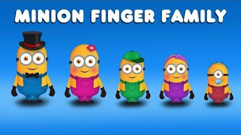 The Finger Family Minions Family Nursery Rhyme Despicable Me Finger Family Songs
