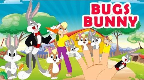 BUGS BUNNY Finger Family Song & Nursery Rhyme for Kids MY FINGER FAMILY RHYMES