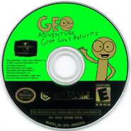 Geo Adventure Gree Guy's Returns GameCube disc NTSC