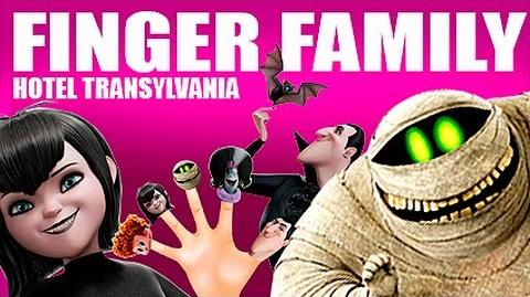FINGER FAMILY - The Finger Family Song Hotel Transylvania - TyZ Kids Channel