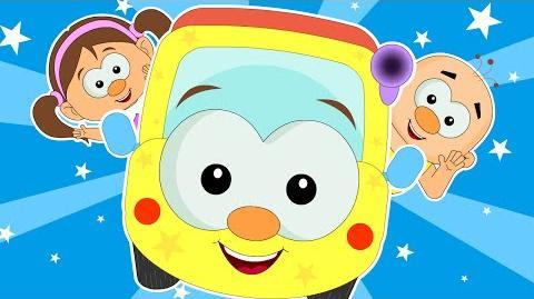 Wheels On The Bus Go Round And Round Nursery Rhymes Popular Nursery Rhymes Songs HooplaKidz TV