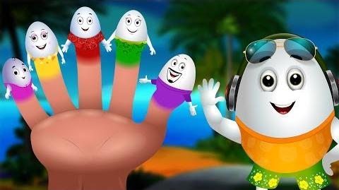 Egg Finger Family Song Surprise Eggs Nursery Rhymes Fun Hawaii Water Games For Kids ChuChu TV