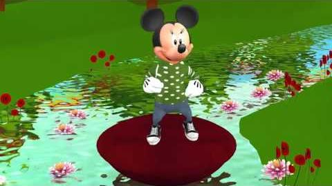 Songs for Children Row Row Your Boat Rhyme Mickey Mouse Baby Rhymes