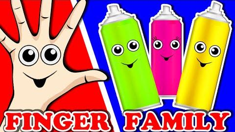Colors Finger Family Finger Family Song Learn Colours for Kids Toddlers Animated Surprise Eggs