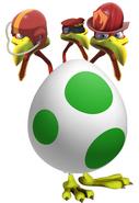 ThreeHeadedEggBird