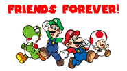 SuperMarioScreenSaversFriendsForever