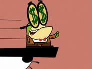 Pixiefrog Has Dollar Eyes