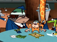 Pixiefrog Rips Off Jake's Uniform