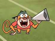 Jake Using a Megaphone