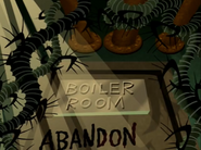 Boiler Room Plaque