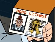 Benny is a Lisenced Hobo