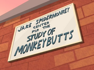 Jake Spidermonkey Center for the Study of Monkeybutts