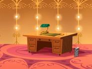 Mr. Mandrill's New Desk