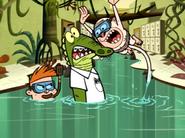 Jake Jumps on the Poor Nerd