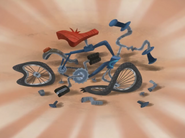 Crashed Bike