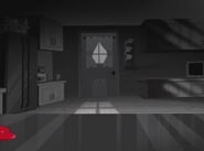 Kitchen Door (Noir)