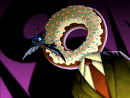 Harry Flies Through Donut Head
