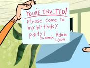 Jake Reads Adam's Invitation
