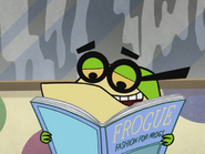 Pixiefrog Reading Frogue Magazine