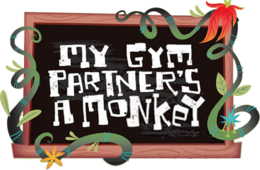 My Gym Partner's a Monkey Logo