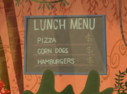 Humanized Lunch Menu