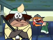Jake Reveals Windsor's Rhino Hat