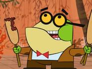 Pixiefrog Eats Corndogs