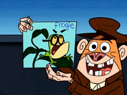 Jake Shows Funny Pixiefrog Drawing