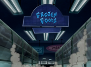 Frozen Foods Section