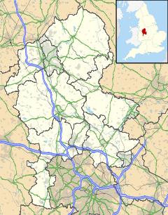 240px-Staffordshire UK location map svg