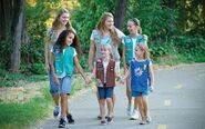 Girl scout walk