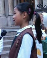 Brownie girl scout