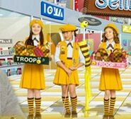 Bumble bee scouts