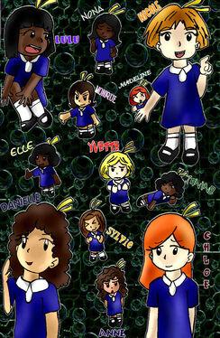 12 Little Girls by shinneth
