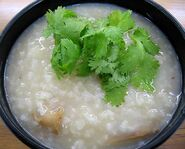 Chinese rice soup