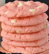 Pinkwhitechocolatechipcookies