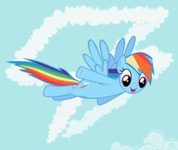 250px-Rainbow Dash in front of cutie mark crop S02E08