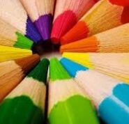 G colored pencils