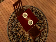 A table with a meal on it