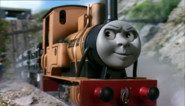Duncan with black buffers