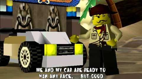 Lego Racers Jhonny Thunders Opening