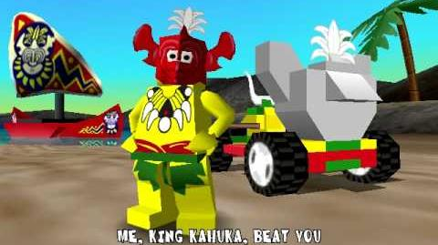 Lego Racers King Kahukas Opening