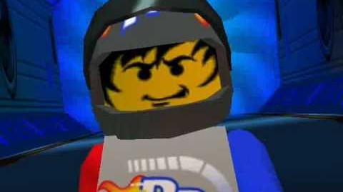 Lego Racers - Rocket Racer Cutscene