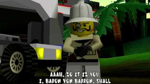 Lego Racers Baron Von Barrons Opening