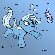 1812 - Trixie sea pony