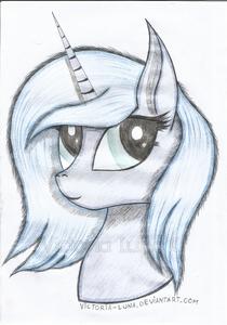 TRADITIONAL Pony Portrait -2 ~ Luna