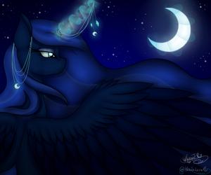 Princess Luna by CyanElwi & Victoria Luna