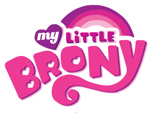 My Little Brony Logo Transparent