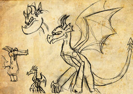 Mlp dragons sketches 01 by velgarn-d4tip05
